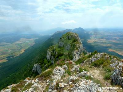 Sierra Toloño,Rioja Alavesa; monasterios la rioja viaje camino de santiago senderismo para niños g